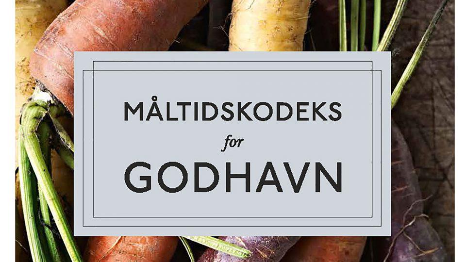 Forside fra Måltidskodeks for Godhavn