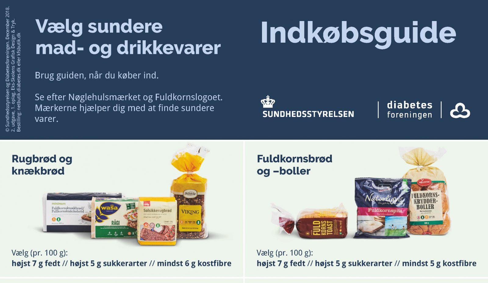 Indkøbsguide til mennesker med diabetes