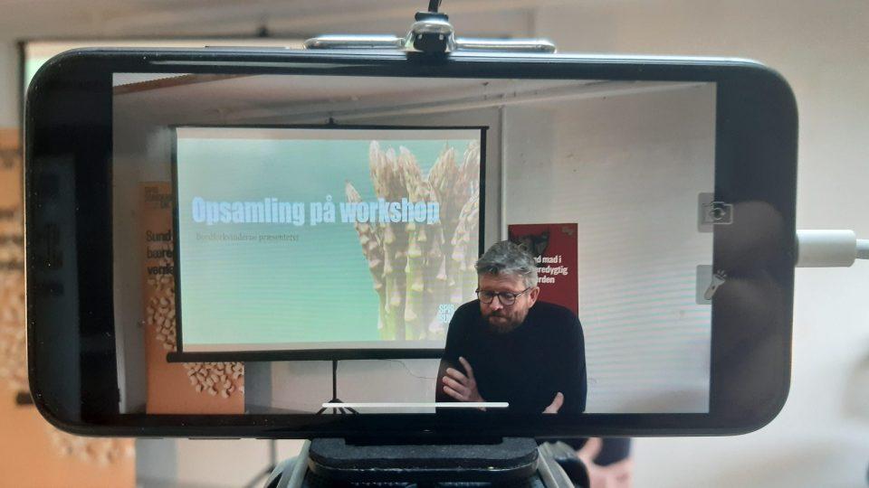 Claus Egeris til medlemsmøde om udbredelse af kostråd